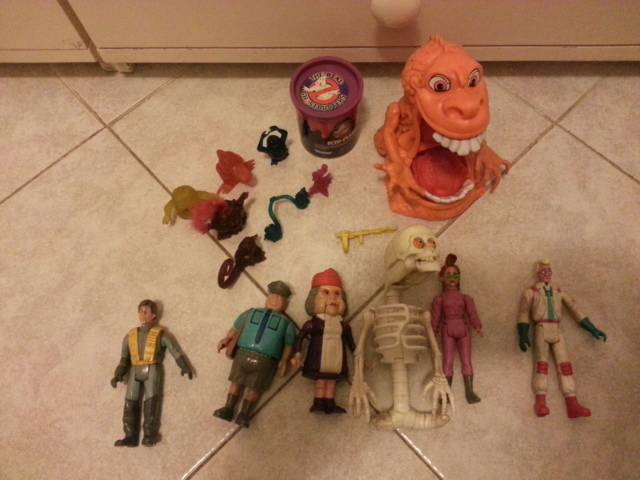 LOTTO THE REAL GHOSTBUSTERS 80/90 20141126