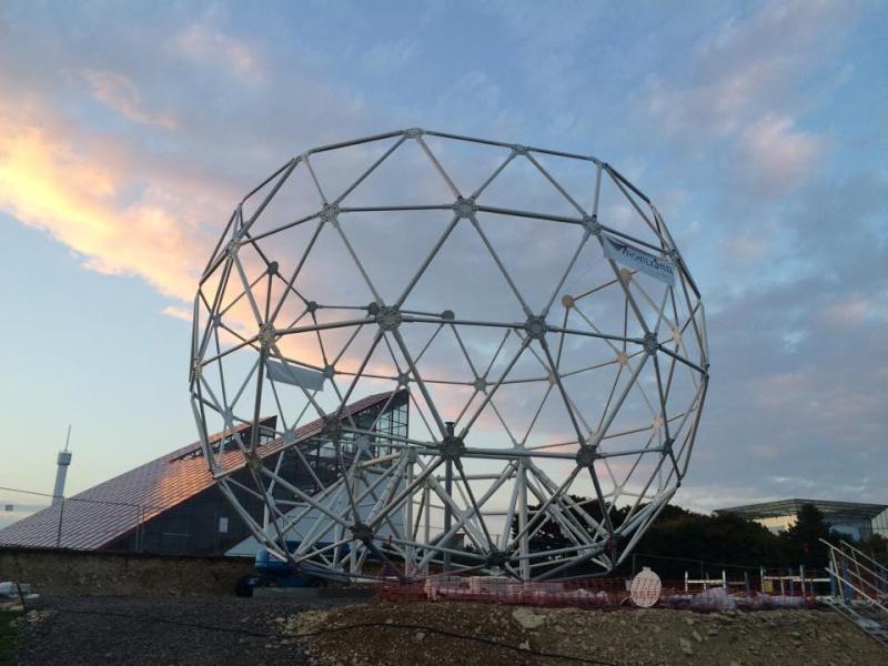 Boule du Futuroscope : démontage, reconstruction, scénographie (2012-2014) - Page 21 10155310