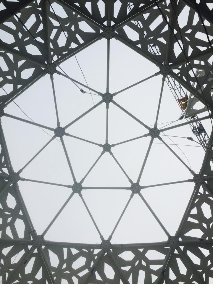 Boule du Futuroscope : démontage, reconstruction, scénographie (2012-2014) - Page 21 10420110