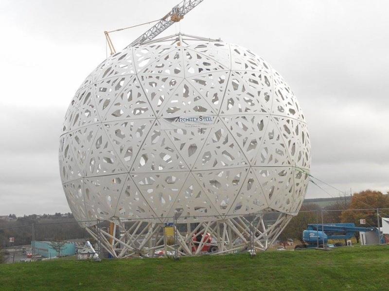 Boule du Futuroscope : démontage, reconstruction, scénographie (2012-2014) - Page 19 10808010