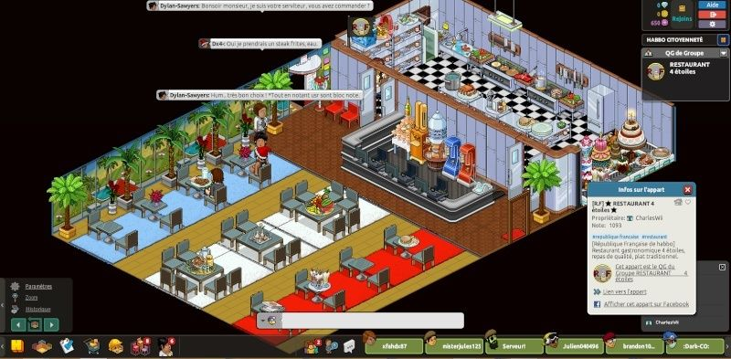 [R.F] Rapport Restaurant RP. Rappor17