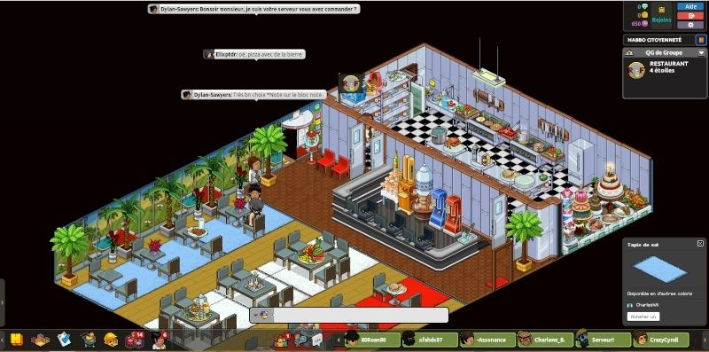 [R.F] Rapport Restaurant RP. Rappor27