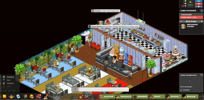 [R.F] Rapport Restaurant RP. Rappor30