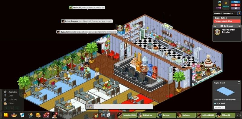 [R.F] Rapport Restaurant RP. Rappor31