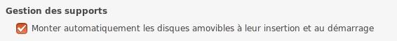 Pas de montage automatique des supports amovibles Captur10