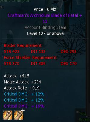 Archridium + 15 Weapons 3ple11