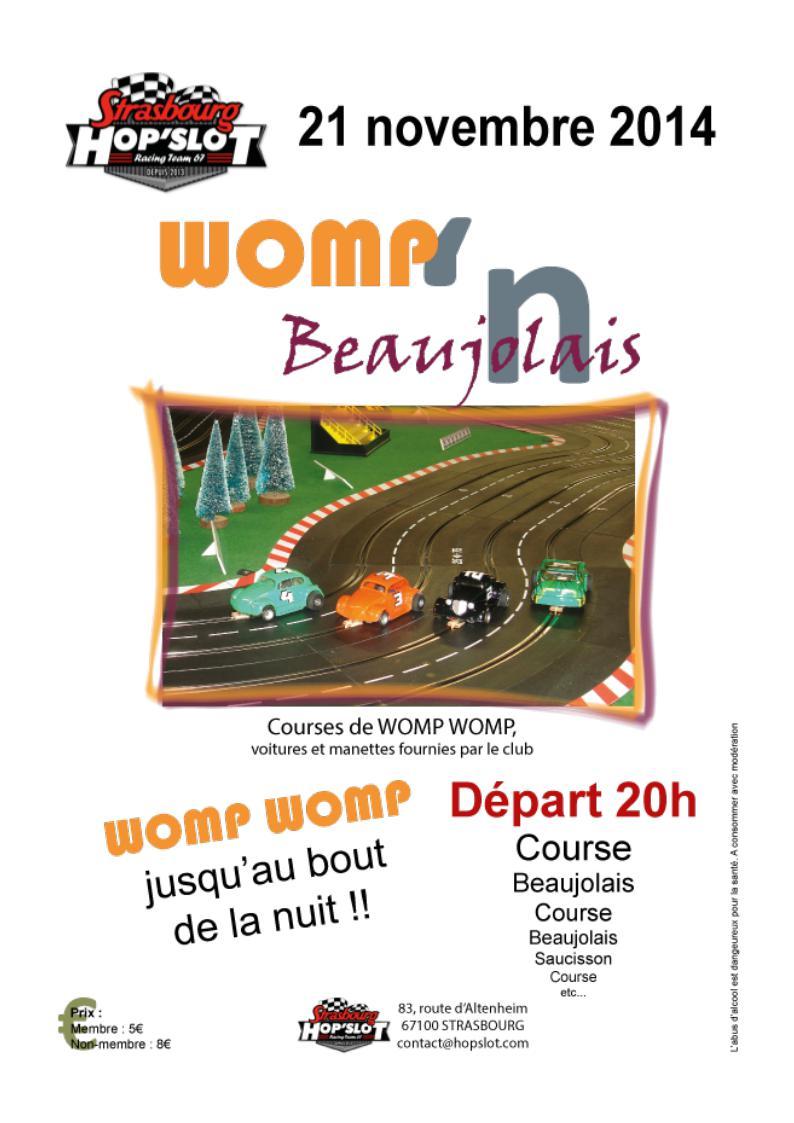 Hop Slot Racing Strasbourg Womp211