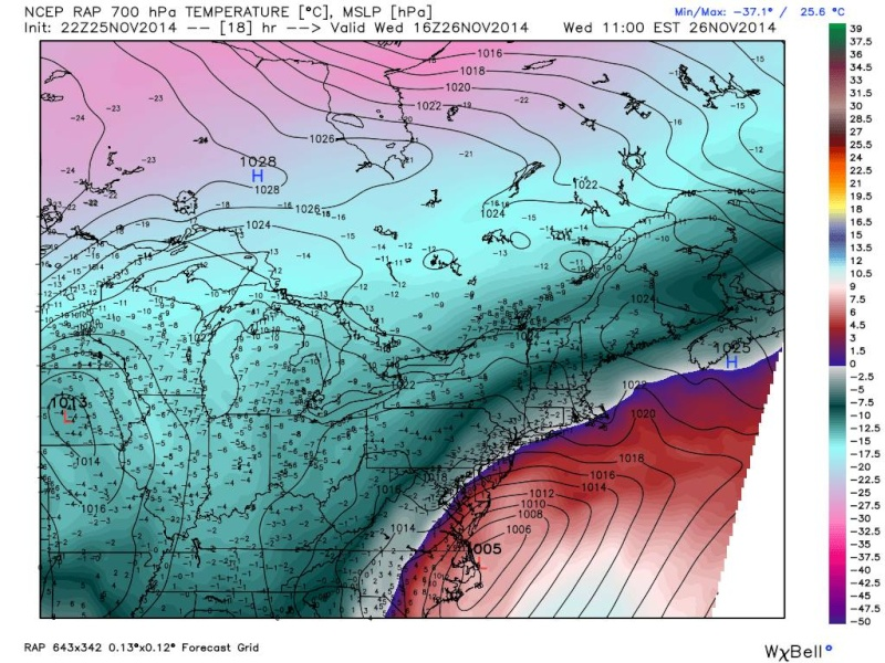 11/26 Pre-Thanksgiving Nor'easter Part 3: Obs Thread and Final Snow Map - Page 5 10687510