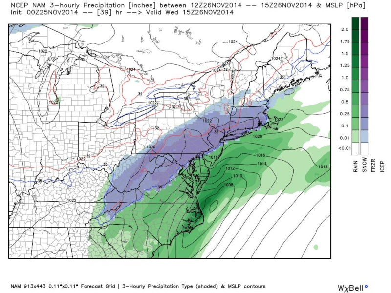 11/26 Coastal Storm Part 2: Forecast & Snow Map - Page 5 14123910