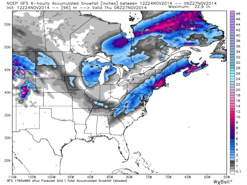 11/26 Strong Coastal Storm Possible - Page 20 Gfs_6h12