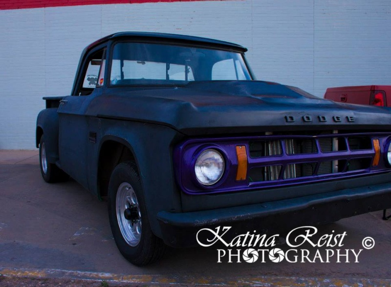 "1969 short bed stepside ""Black Betty"" 17945911"