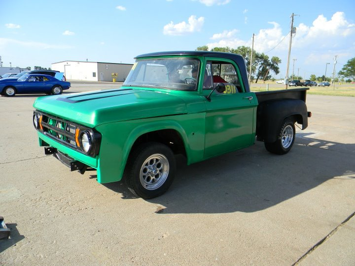 "1969 short bed stepside ""Black Betty"" 28477310"