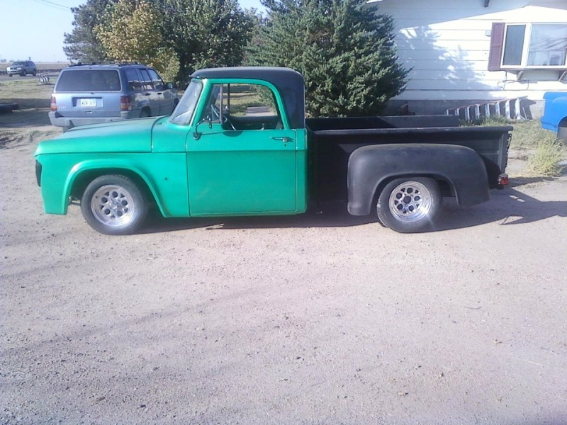 "1969 short bed stepside ""Black Betty"" 29778810"