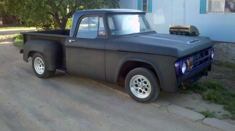 "1969 short bed stepside ""Black Betty"" 57798314"