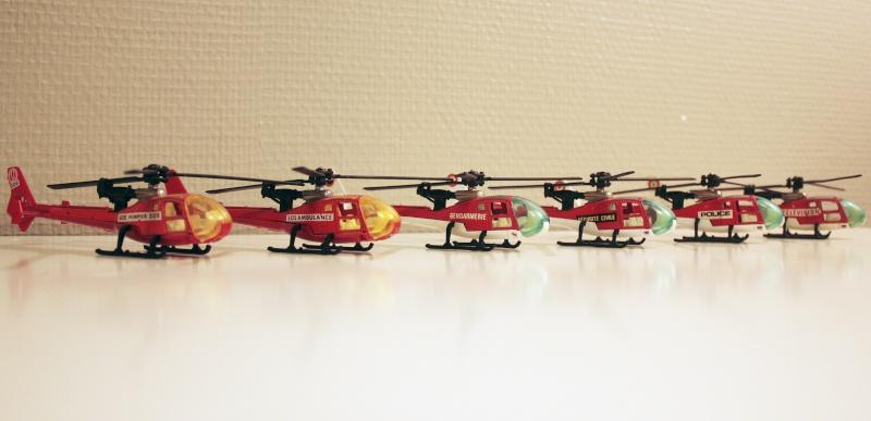 Ma Flotte (Gazelle,Dauphin,Agusta109) 0110