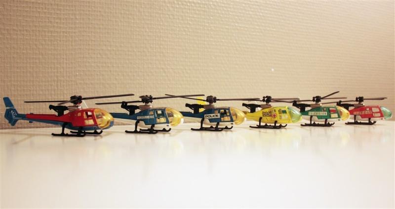 Ma Flotte (Gazelle,Dauphin,Agusta109) 0211