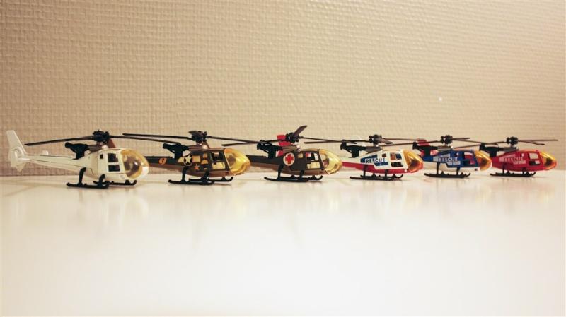 Ma Flotte (Gazelle,Dauphin,Agusta109) 0411