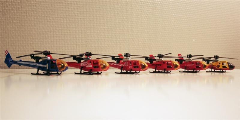 Ma Flotte (Gazelle,Dauphin,Agusta109) 1mit10