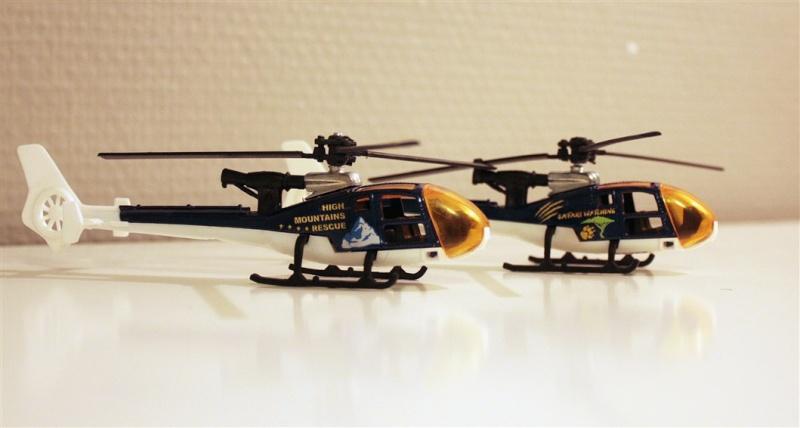 Ma Flotte (Gazelle,Dauphin,Agusta109) 2mit10