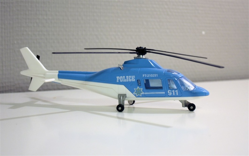 Ma Flotte (Gazelle,Dauphin,Agusta109) 6mit10