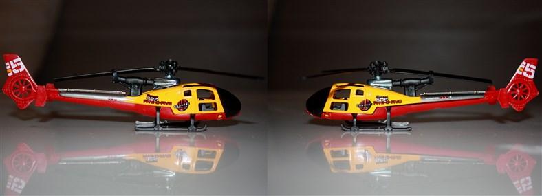 N°371 Hélicoptère Gazelle Channe10