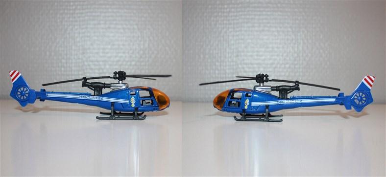 N°371 Hélicoptère Gazelle Gendar11