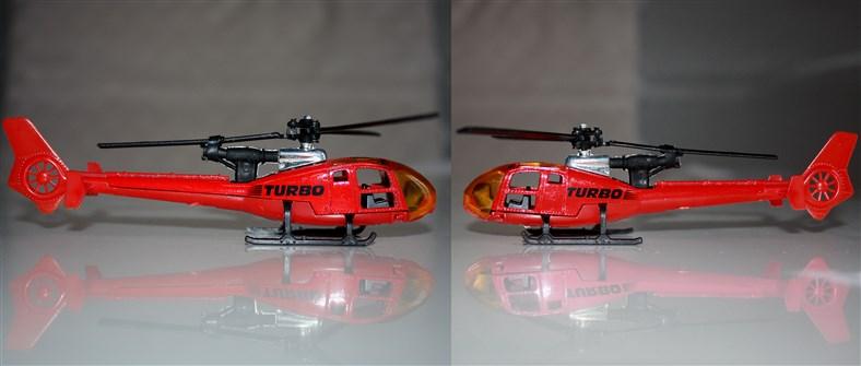 N°371 Hélicoptère Gazelle Turbo10