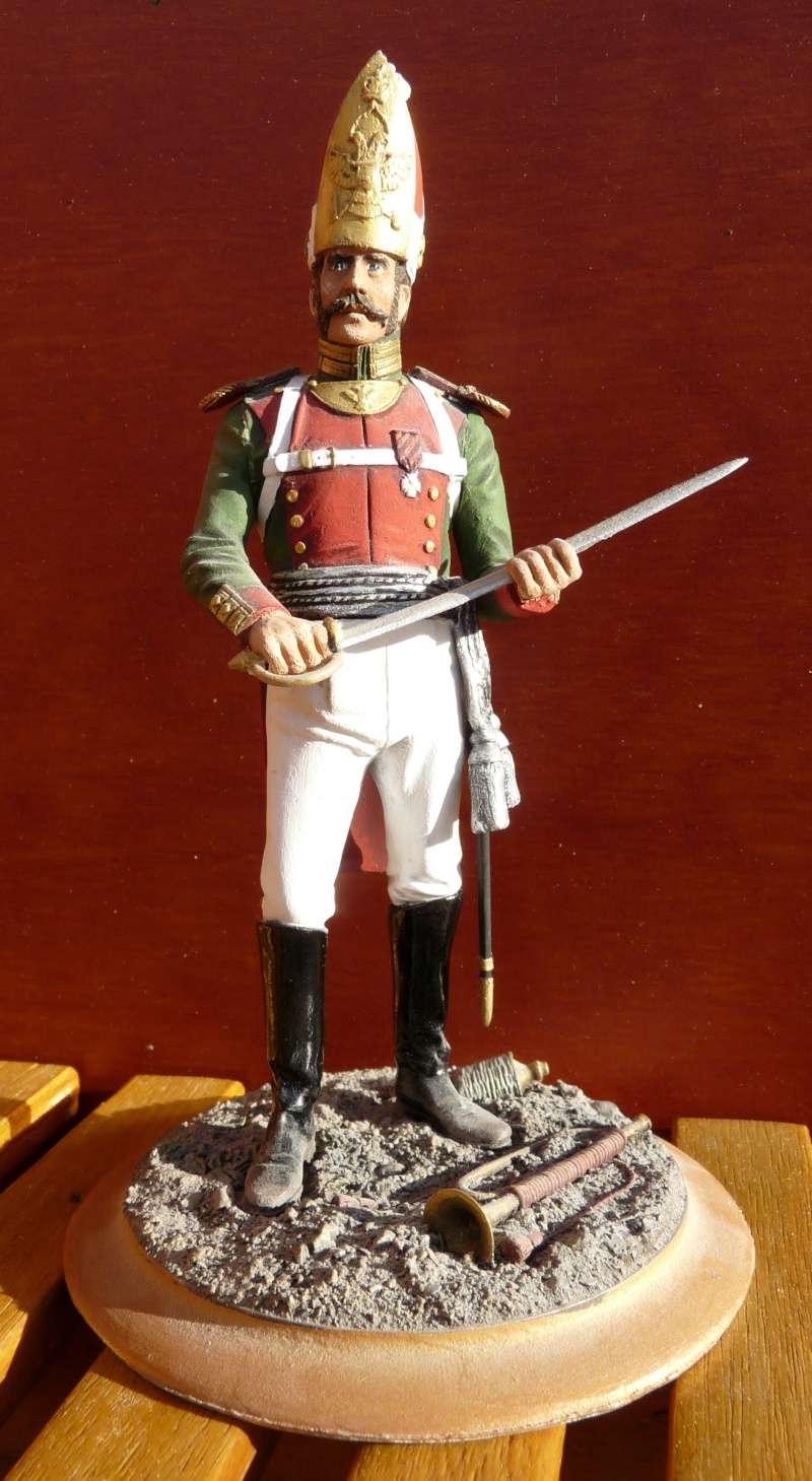 Officier de Grenadier Russe - Régiment Pavlovski - 1813 01_off12