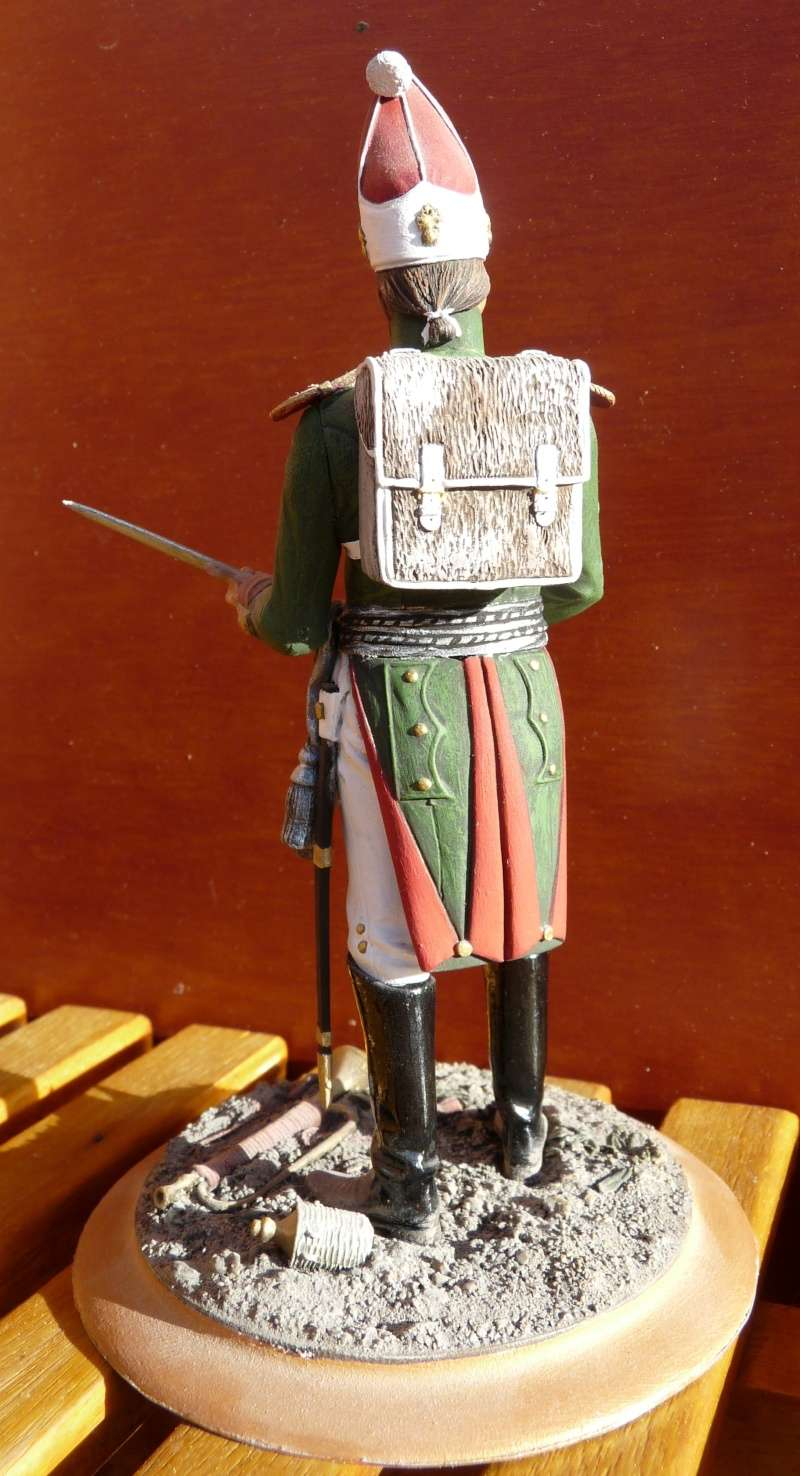Officier de Grenadier Russe - Régiment Pavlovski - 1813 03_off10