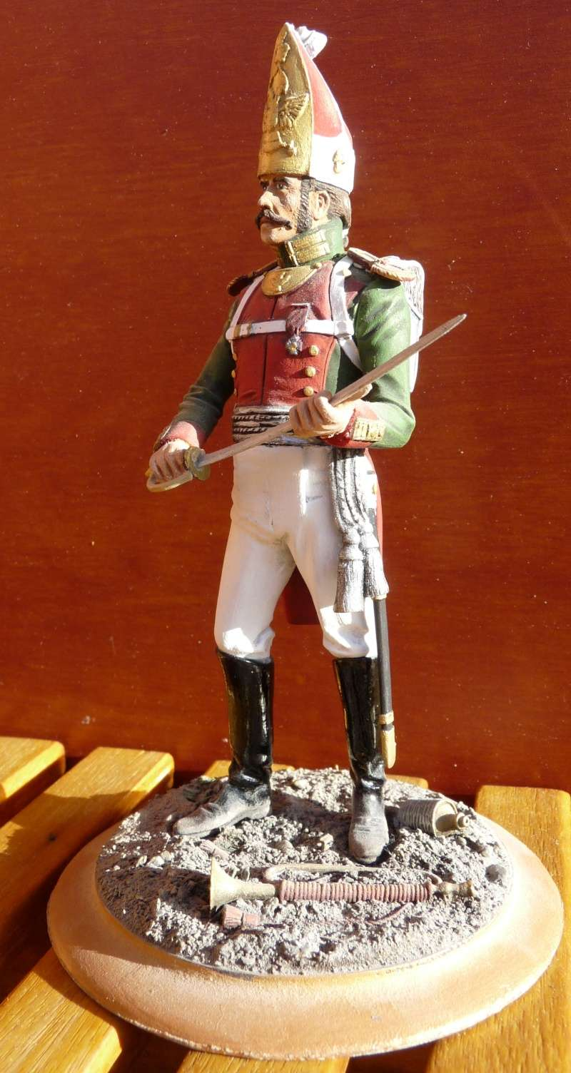 Officier de Grenadier Russe - Régiment Pavlovski - 1813 04_off10