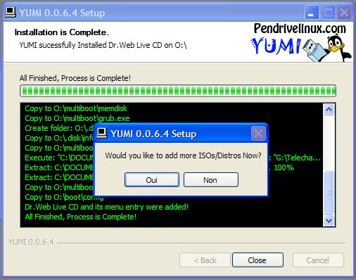 Yumi multiboot USB creator : Comment créer une clé usb de démarrage Accept10