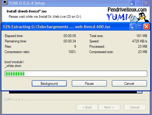 Yumi multiboot USB creator : Comment créer une clé usb de démarrage Extrac10