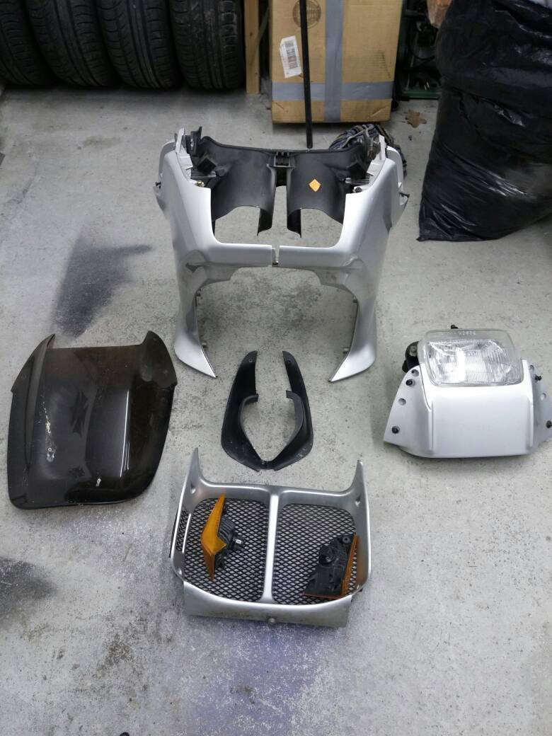 BMW K75S Fairing and other parts 20141111