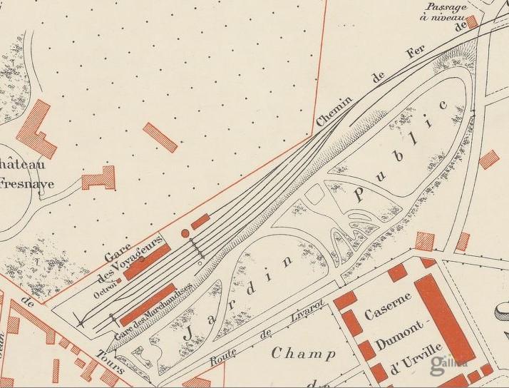 La ligne Falaise-Berjou Falais10
