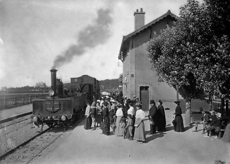 Le chemin de fer Caen-La mer Luc4210
