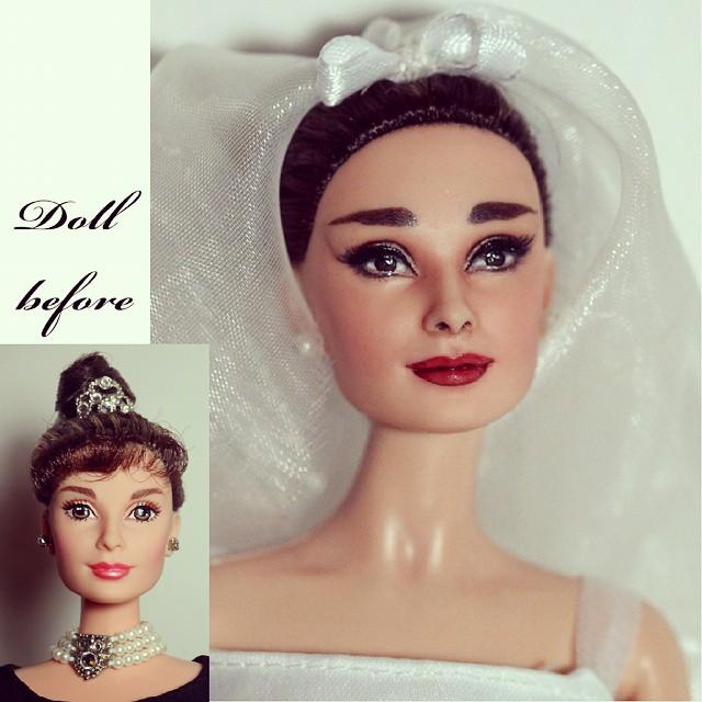 Découverte de talents, customisations de poupées Audrey10