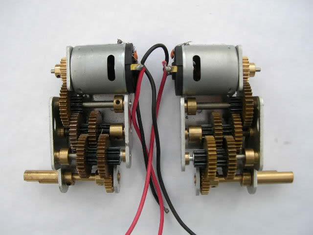 Sostituzione motori Gb110