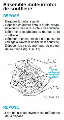 Cherche pièces S3 : rétroviseur conducteur - moteur ventilation habitacle Demont11
