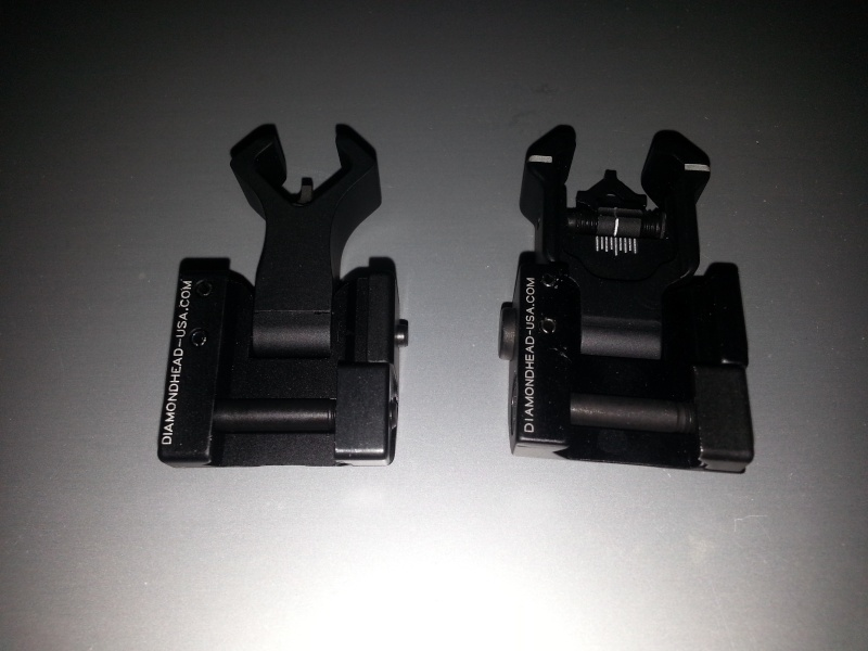 WTS New Folding Diamondhead KRISS Iron Sights (SOLD) 20141112