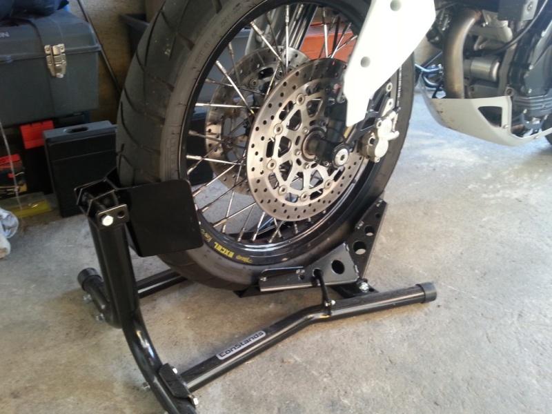 Béquille bloc roue avant Bequil10