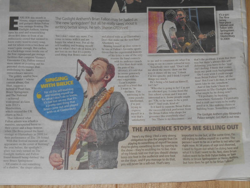 Interview in the London Metro (11/19/14) Dscn2811