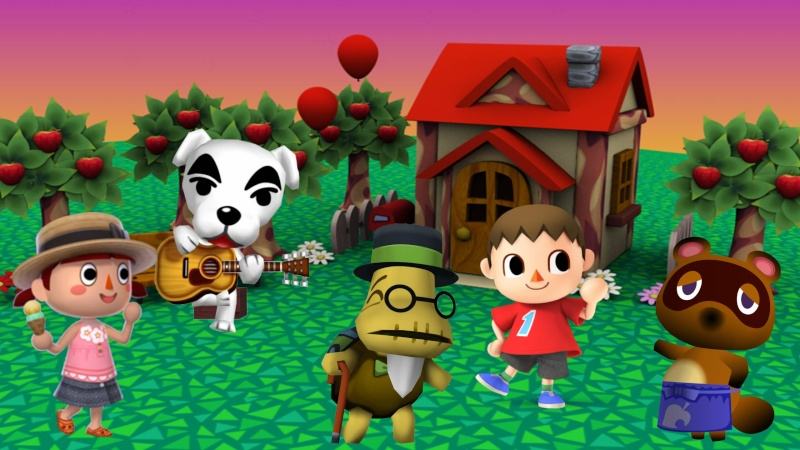 [Film & Jeux-vidéo] Animal Crossing ~ The Movie Animal10