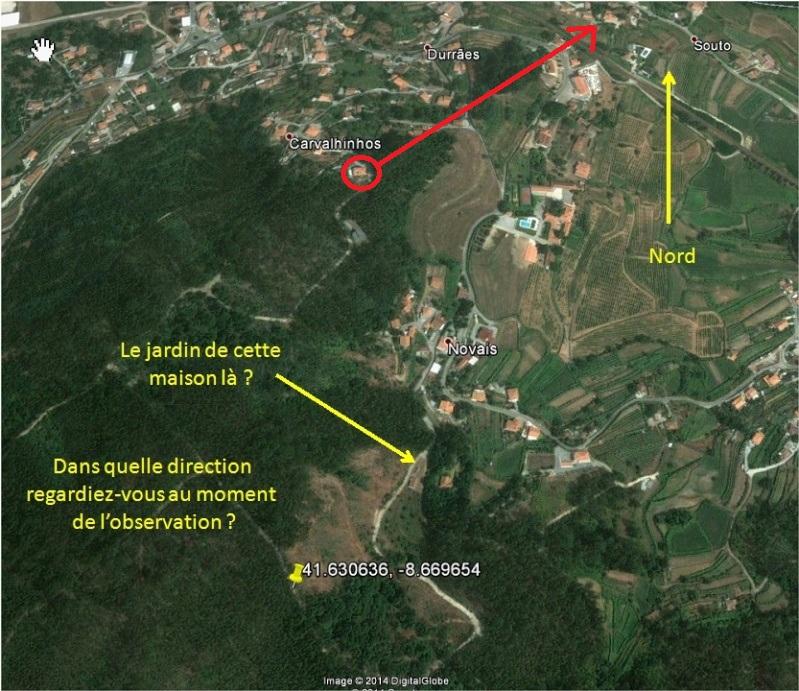 1995: le 23/08 à 15h00 - Un Ovni de grande taille -  Ovnis à Durraes  -  Duraes10