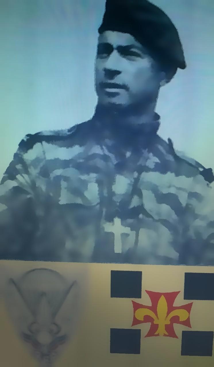 DELARUE Louis aumonier militaire des 1er REP et 2° RPIMa Delaru10