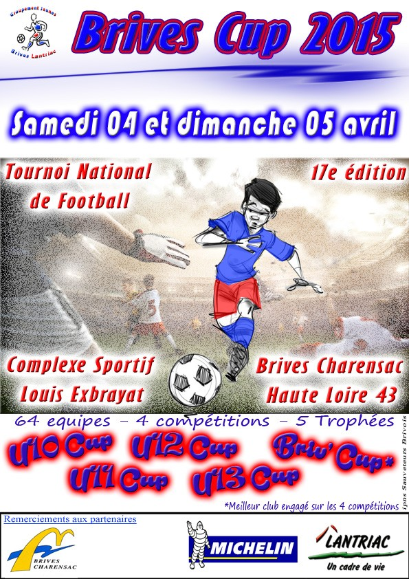 BRIVES CUP paques 2015 Tournoi National u10-u11-u12-u13cup Brives10