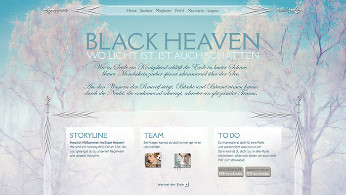 Black Heaven - Wo Licht ist, ist auch Schatten - Fantasy - FSK 16+ Winter10
