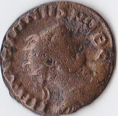 fractio radiée de Maximeien Hercule et nummus de Siscia Img_0032
