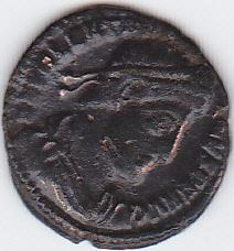 fractio radiée de Maximeien Hercule et nummus de Siscia Img_0034