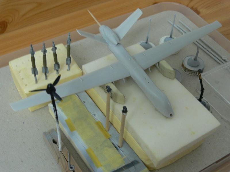 Drone MQ-9 Reaper Italeri 1/72nd  00210
