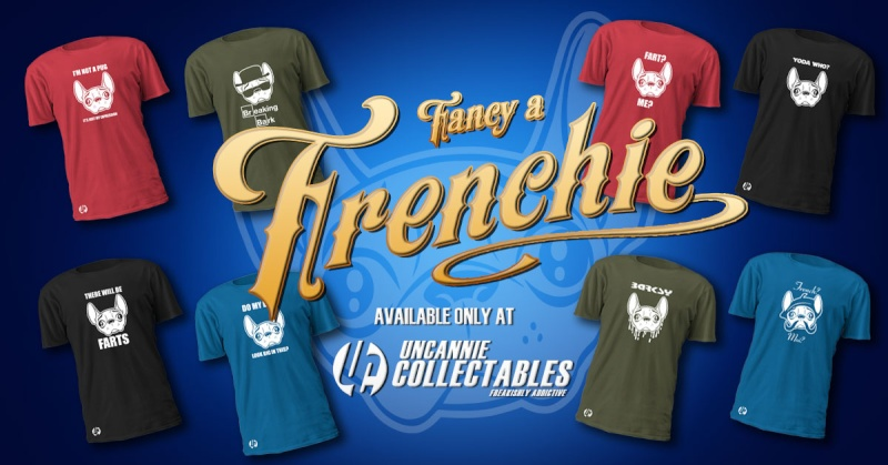 Super cool Frenchie T-Shirts for sale.... Fancy-10